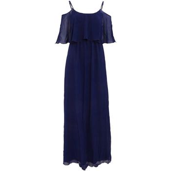 textil Dame Lange kjoler Girls On Film  Navy