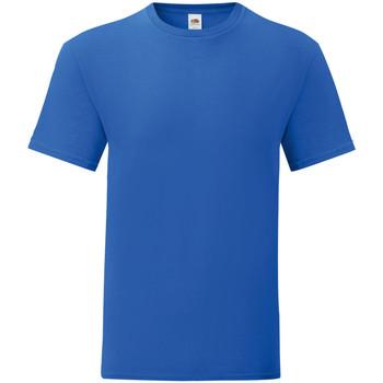 textil Herre T-shirts m. korte ærmer Fruit Of The Loom 61430 Royal Blue