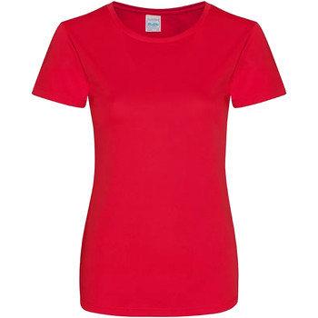 textil Dame T-shirts m. korte ærmer Awdis JC025 Fire Red