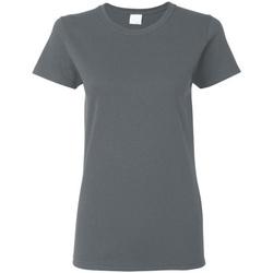 textil Dame T-shirts m. korte ærmer Gildan Missy Fit Dark Heather