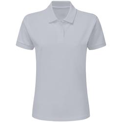 textil Dame Polo-t-shirts m. korte ærmer Sg SG50F Light Oxford