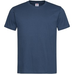 textil Herre T-shirts m. korte ærmer Stedman Stars  Navy