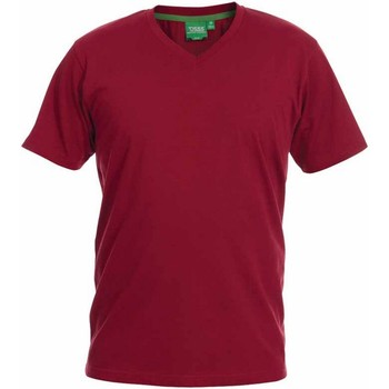 textil Herre T-shirts m. korte ærmer Duke  Red