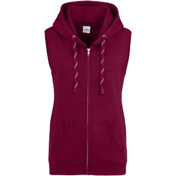 textil Dame Sweatshirts Awdis JH57F Burgundy