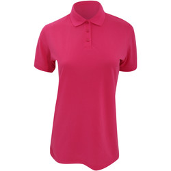 textil Dame Polo-t-shirts m. korte ærmer Kustom Kit Klassic Raspberry