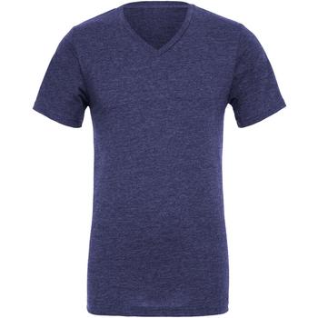 textil Herre T-shirts m. korte ærmer Bella + Canvas CA3005 Navy Blue