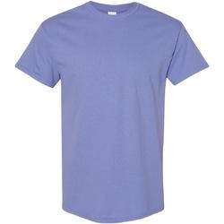textil Herre T-shirts m. korte ærmer Gildan Heavy Violet