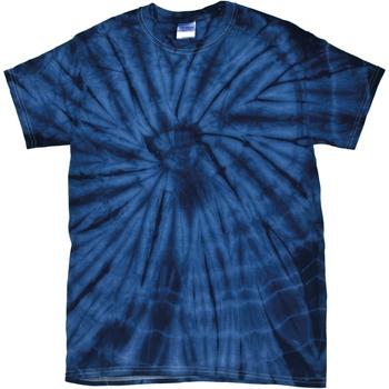 textil T-shirts m. korte ærmer Colortone Tonal Spider Navy