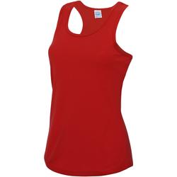 textil Dame Toppe / T-shirts uden ærmer Awdis JC015 Fire Red