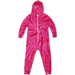 textil Børn Pyjamas / Natskjorte Colortone Die Tye Spider Pink