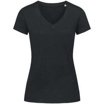 textil Dame T-shirts m. korte ærmer Stedman Stars Janet Black Opal