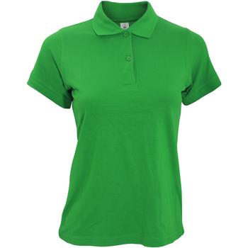 textil Dame Polo-t-shirts m. korte ærmer B And C PW455 Kelly Green