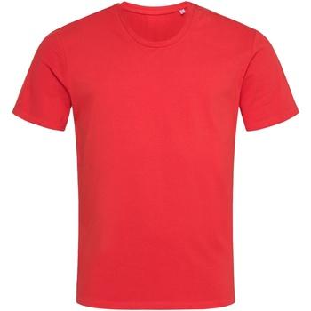 textil Herre T-shirts m. korte ærmer Stedman  Scarlet Red