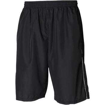 textil Herre Shorts Tombo Teamsport Longline Black/White