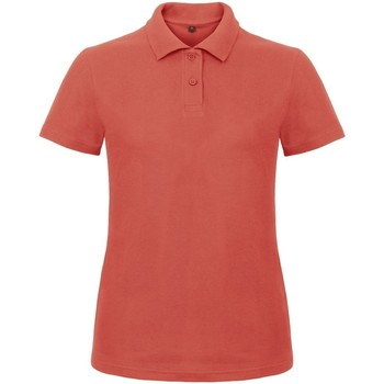 textil Dame Polo-t-shirts m. korte ærmer B And C ID.001 Pixel Coral