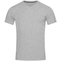 textil Herre T-shirts m. korte ærmer Stedman Stars Clive Heather Grey