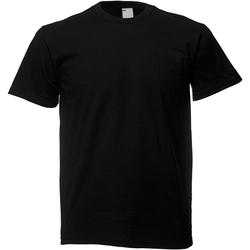 textil Herre T-shirts m. korte ærmer Universal Textiles 61082 Jet Black