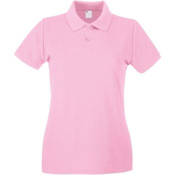 textil Dame Polo-t-shirts m. korte ærmer Universal Textiles 63030 Baby Pink