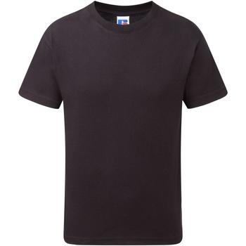 textil Dreng T-shirts m. korte ærmer Jerzees Schoolgear J155B Black