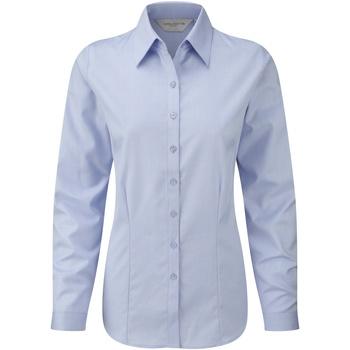 textil Dame Skjorter / Skjortebluser Russell 962F Light Blue