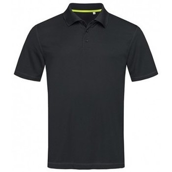 textil Herre Polo-t-shirts m. korte ærmer Stedman  Black Opal