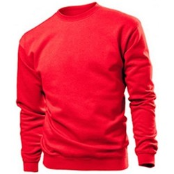 textil Herre Sweatshirts Stedman  Scarlet Red