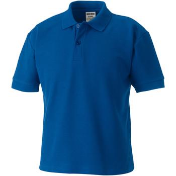 textil Børn Polo-t-shirts m. korte ærmer Jerzees Schoolgear 65/35 Bright Royal