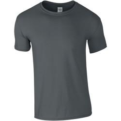 textil Herre T-shirts m. korte ærmer Gildan GD01 Charcoal