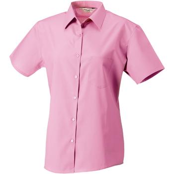 textil Dame Skjorter / Skjortebluser Russell J937F Bright Pink