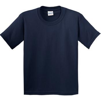 textil Børn T-shirts m. korte ærmer Gildan 5000B Navy