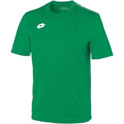 textil Herre T-shirts m. korte ærmer Lotto LT026 Grass/White