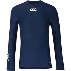 textil Børn Langærmede T-shirts Canterbury CN360B Navy