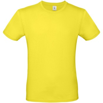 textil Herre T-shirts m. korte ærmer B And C TU01T Solar Yellow