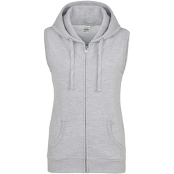 textil Dame Sweatshirts Awdis JH57F Heather Grey