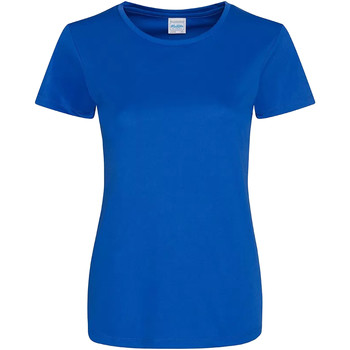 textil Dame T-shirts m. korte ærmer Awdis JC025 Royal Blue