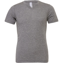 textil Herre T-shirts m. korte ærmer Bella + Canvas CA3415 Grey Triblend
