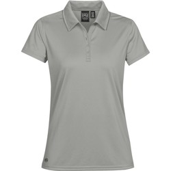 textil Dame Polo-t-shirts m. korte ærmer Stormtech PG-1W Cool Silver