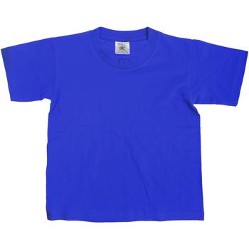 textil Børn T-shirts m. korte ærmer B And C Exact Royal