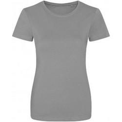 textil Dame T-shirts m. korte ærmer Ecologie EA01F Heather