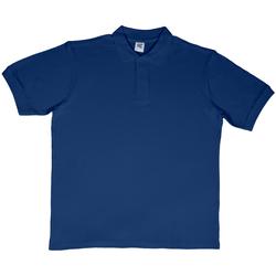textil Herre Polo-t-shirts m. korte ærmer Sg SG50 Navy Blue