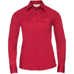 textil Dame Skjorter / Skjortebluser Russell 934F Classic Red