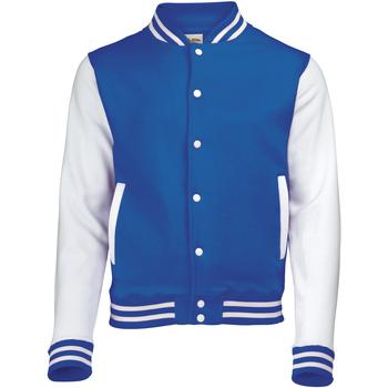textil Herre Jakker Awdis JH043 Royal Blue / White