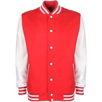 textil Herre Jakker Fdm FV001 Fire Red/White