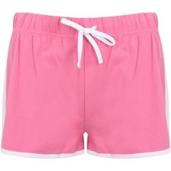 textil Dame Shorts Skinni Fit SK69 Bright Pink/White