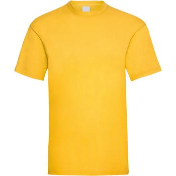 textil Herre T-shirts m. korte ærmer Universal Textiles 61036 Gold