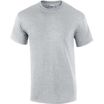 textil Herre T-shirts m. korte ærmer Gildan Ultra Ash Grey