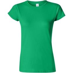 textil Dame T-shirts m. korte ærmer Gildan Soft Irish Green