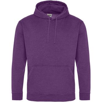 textil Sweatshirts Awdis Washed Washed Purple
