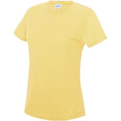 textil Dame T-shirts m. korte ærmer Awdis JC005 Sherbet Lemon