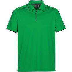 textil Herre Polo-t-shirts m. korte ærmer Stormtech Inertia Kelly Green / Black